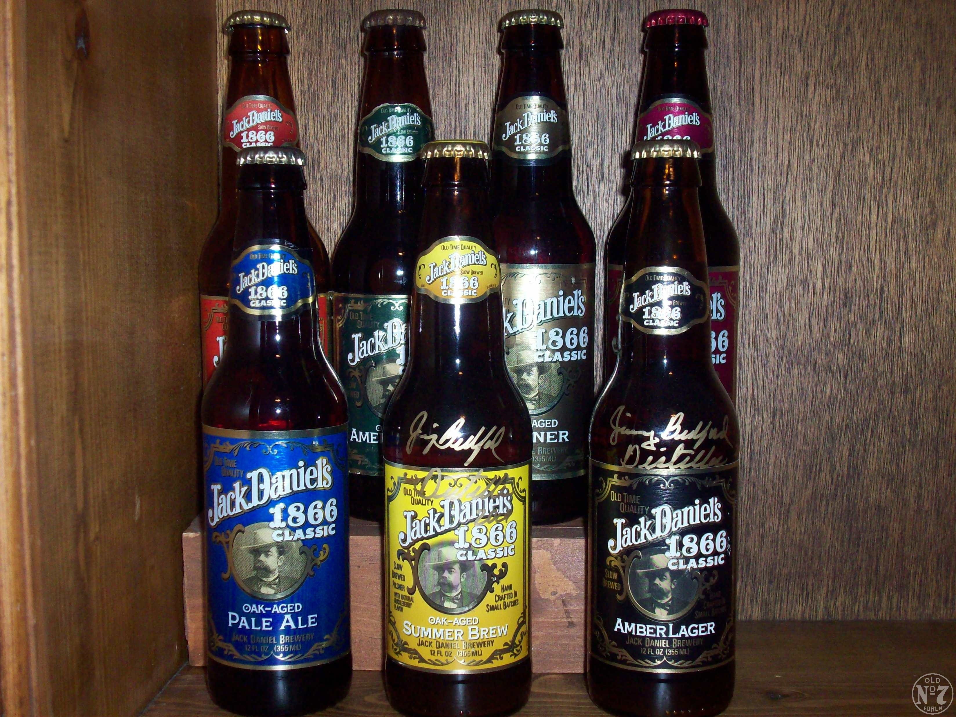 Jack Daniels 1866 Classic Winter Brew Beer Bottle